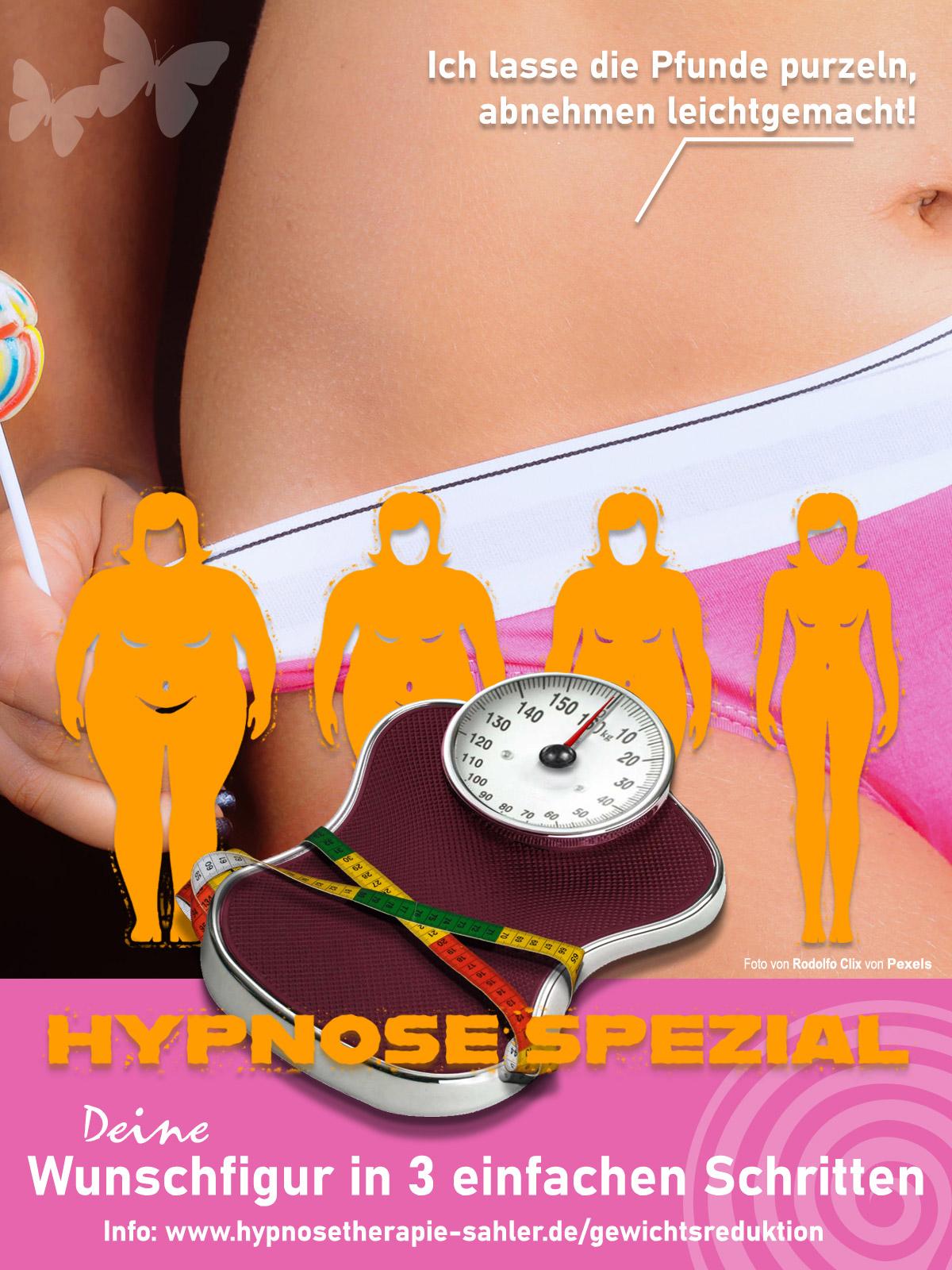 Gewichtsreduktion - Abnehmen leichtgemacht mit NLP und Hypnose
