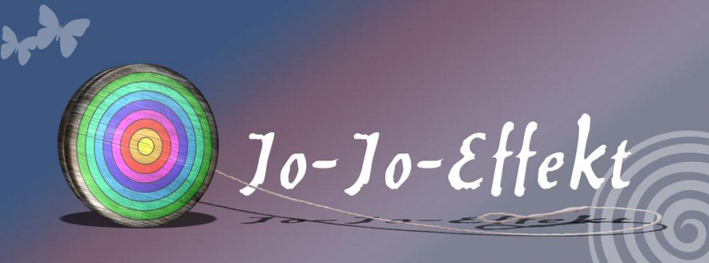 Ein Jo-Jo als Symbol für die Gewichtszunahme nach einer Diät